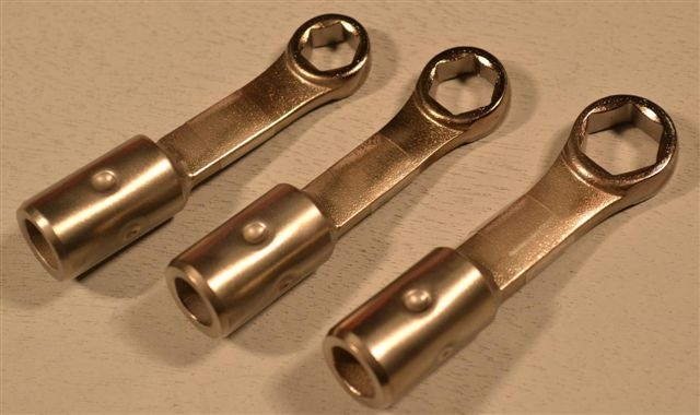 Box End Metric Small Size Wrench Group, 6m, 7m, 8m – 3Pc.