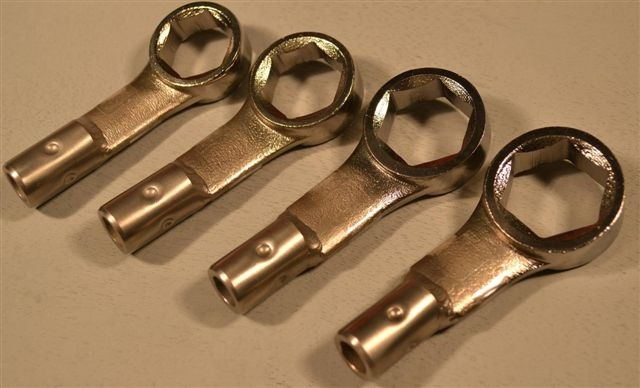 Box End Standard Large Size Wrench Group,13/16, 7/8, 15/16, 1- 4Pc.
