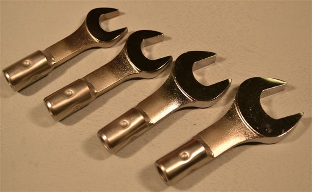 Open End Metric Medium Size Wrench Group,12m, 13m, 14m, 15m – 4Pc.