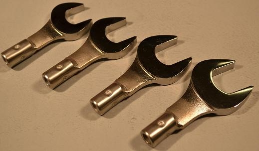 Open End Standard Large Size Wrench Group,13/16, 7/8, 15/16, 1- 4Pc